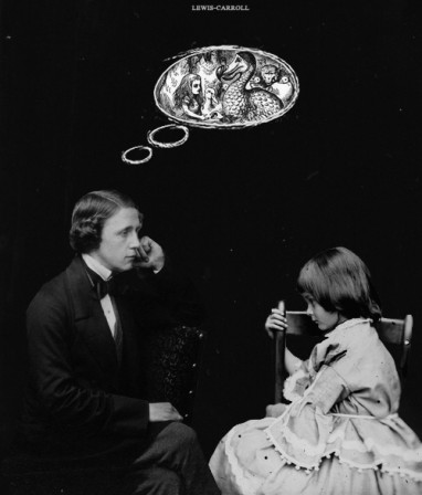 Lewis Carroll et Alice.gif