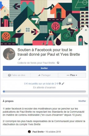 collecte de fonds facebook.JPG, oct. 2019