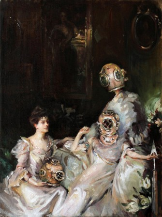 Caroline Sirounian The Ladies' Aquatic Gardening Society John Singer Sargent The Wyndham Sisters.jpg