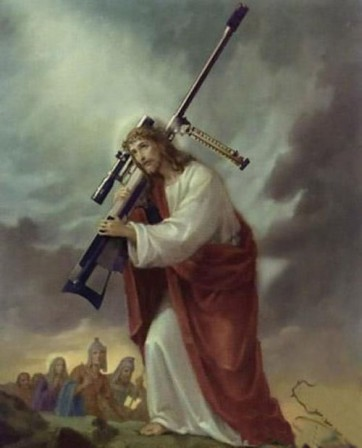 Honest John Jesus Has an AK 47.jpg