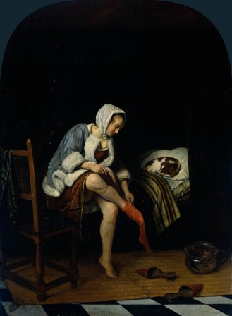 Jan Havicksz Steen femme à la toilette 1655.jpg