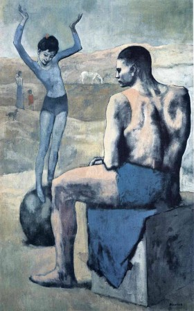 Pablo Picasso Girl on the ball 1905.jpg