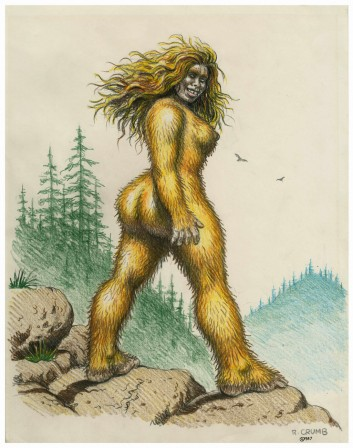 Robert Crumb Sasquatch Woman 1987.jpg
