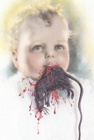 Salvador Dali Bulgarian Child Eating a Rat.png