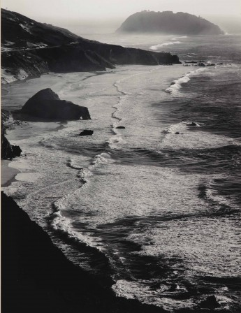 Ansel Adams Point Sur Storm Monterey County 1942.jpg, janv. 2020